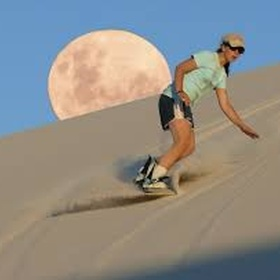 Go Sandboarding in the desert - Bucket List Ideas