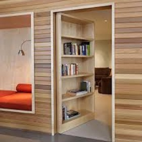 Create a hidden den/room in my house, complete with a door hidden behind a picture, mirror or bookcase - Bucket List Ideas