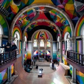 Go skateboarding in the Santa Barbara church - Bucket List Ideas