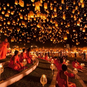 Go to the Lantern Festival in Taiwan - Bucket List Ideas