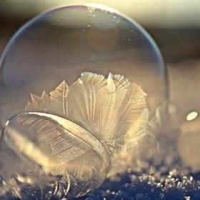 Zeepbellen blazen wanneer het vriest - Bucket List Ideas