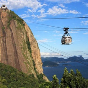 Take two cable cars to the top of Sugarloaf Mounatin - Bucket List Ideas