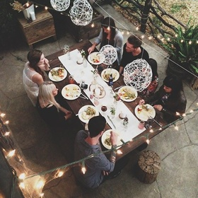 Host a Dinner Party - Bucket List Ideas