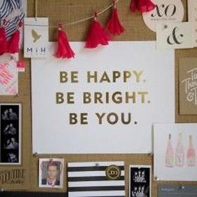 Make an inspiration board - Bucket List Ideas