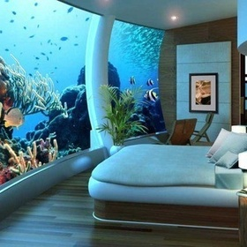 Stay a Week in an Underwater Hotel - Bucket List Ideas
