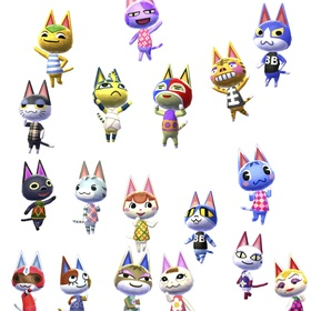 Draw every Animal Crossing villager - Bucket List Ideas
