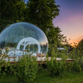 Sleep in a bubble bed surrounded by nature - Bucket List Ideas