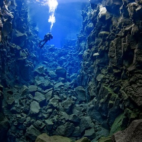 Dive at the Silfra Fissure , Iceland - Bucket List Ideas
