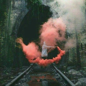 Play with a Smoke Bomb - Bucket List Ideas