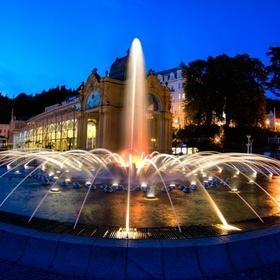 See The Singing Fountain at night, Mariánské Lázně - Bucket List Ideas