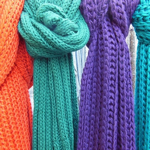 Knit and donate 100 scarves for the homeless - Bucket List Ideas