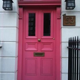Paint my front door pink - Bucket List Ideas