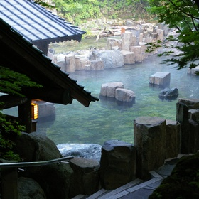Soak in a Japanese Onsen - Bucket List Ideas