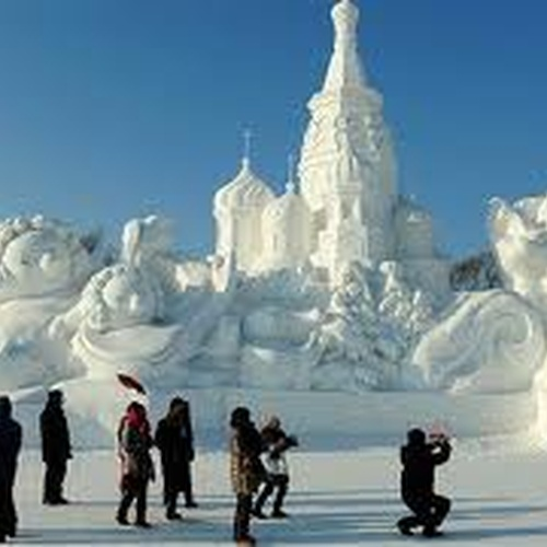 Attend the Harbin international ice and snow sculpture festival - Bucket List Ideas