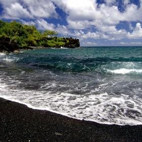Go to a black sand beach - Bucket List Ideas