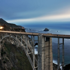 Drive across Bixby Creek bridge in  California - Bucket List Ideas