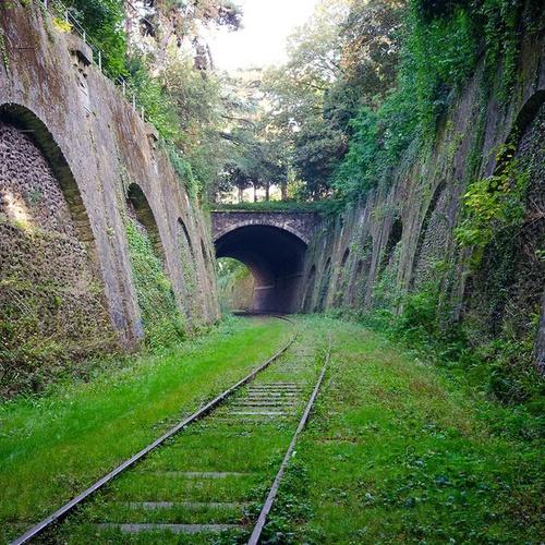 Have my photo taken at the abandoned tracks of La Petite Ceinture in Paris - Bucket List Ideas