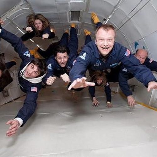 Experience zero gravity - Bucket List Ideas