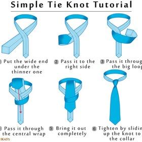 Learn How To Tie A Man's Tie - Bucket List Ideas