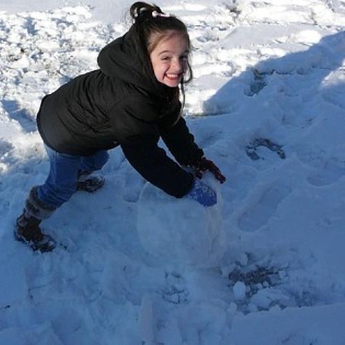 Build a snow man - Bucket List Ideas