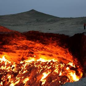 Visit the door to hell, turkmenistan - Bucket List Ideas