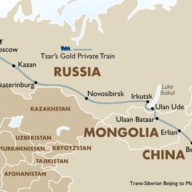Travel on the Trans Siberian railway - Bucket List Ideas