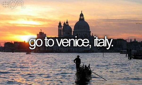 Visit Venice, Italy - Bucket List Ideas
