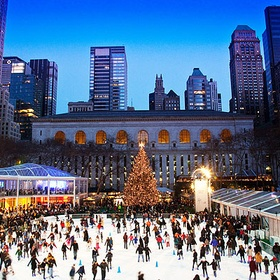 Ice skate in New York - Bucket List Ideas