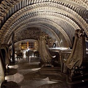 Visit H.R. Giger Bars (Switzerland) - Bucket List Ideas