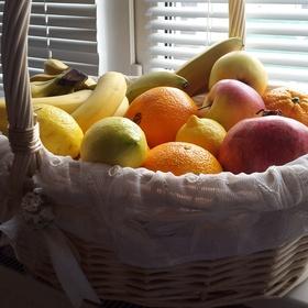 Have a fresh fruits basket again - Bucket List Ideas