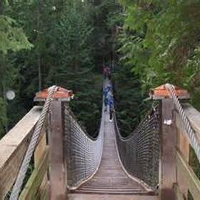 Cross a suspension bridge - Bucket List Ideas