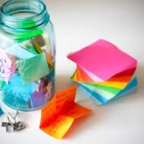 Start a memory jar - Bucket List Ideas