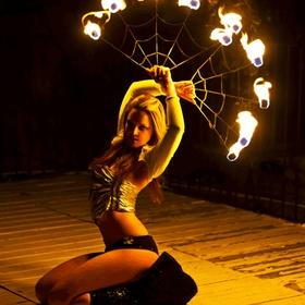 Dance with Fire Fans - Bucket List Ideas