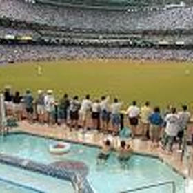 Swim in the Pool at Chase Field during a Diamondbacks Game - Bucket List Ideas