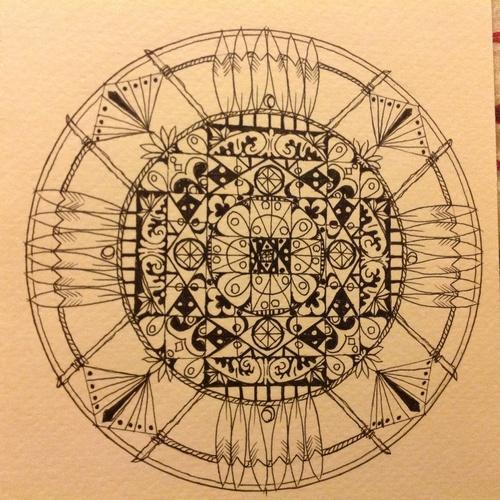 Draw my own mandala - Bucket List Ideas