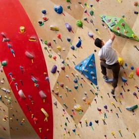 Try Indoor Rock Climbing - Bucket List Ideas