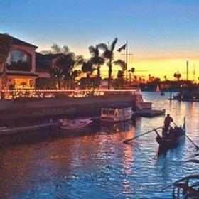 Gondola ride in Naples, Long Beach, CA - Bucket List Ideas