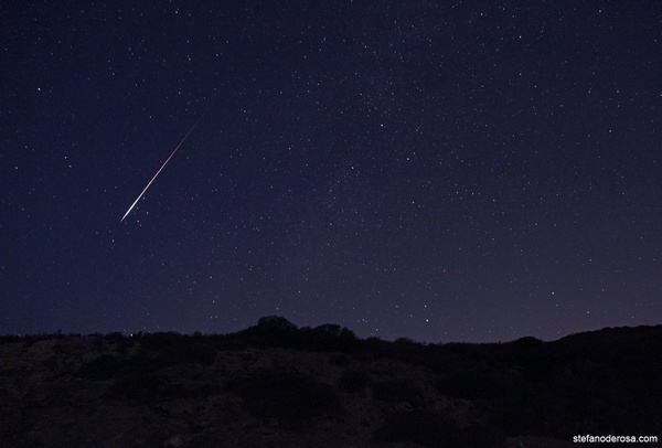 Watch a meteor shower - Bucket List Ideas