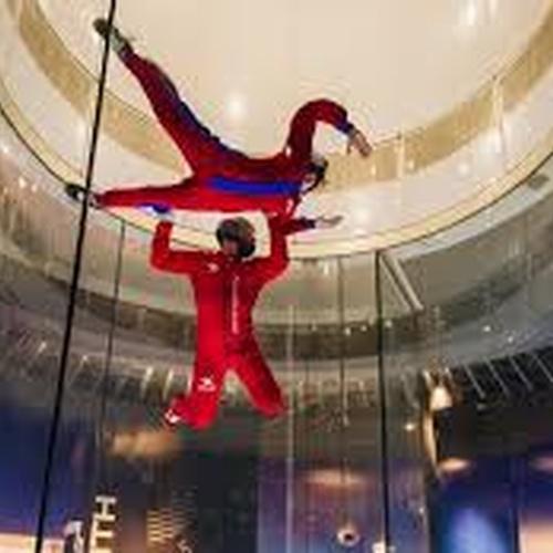 Indoor skydiving - Bucket List Ideas