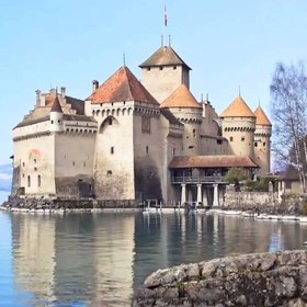 """Sing """"under the sea"""" from the little mermaid at Chillon castle - Bucket List Ideas"""