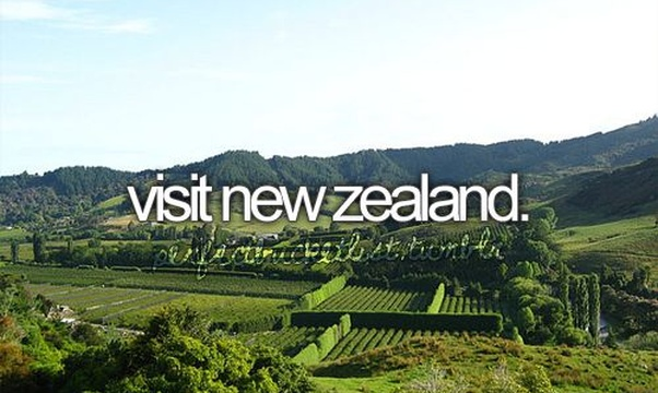 Go to New Zealand - Bucket List Ideas
