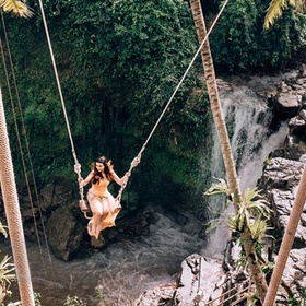 Sit on D'tukad River Club & Swing~ Bali - Bucket List Ideas