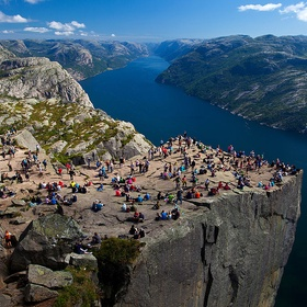 Hike The Pulpit Rock (Preikestolen), Norway - Bucket List Ideas