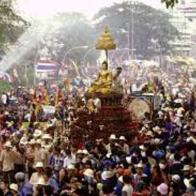 Attend the Songkran Water Festival, Thailand - Bucket List Ideas