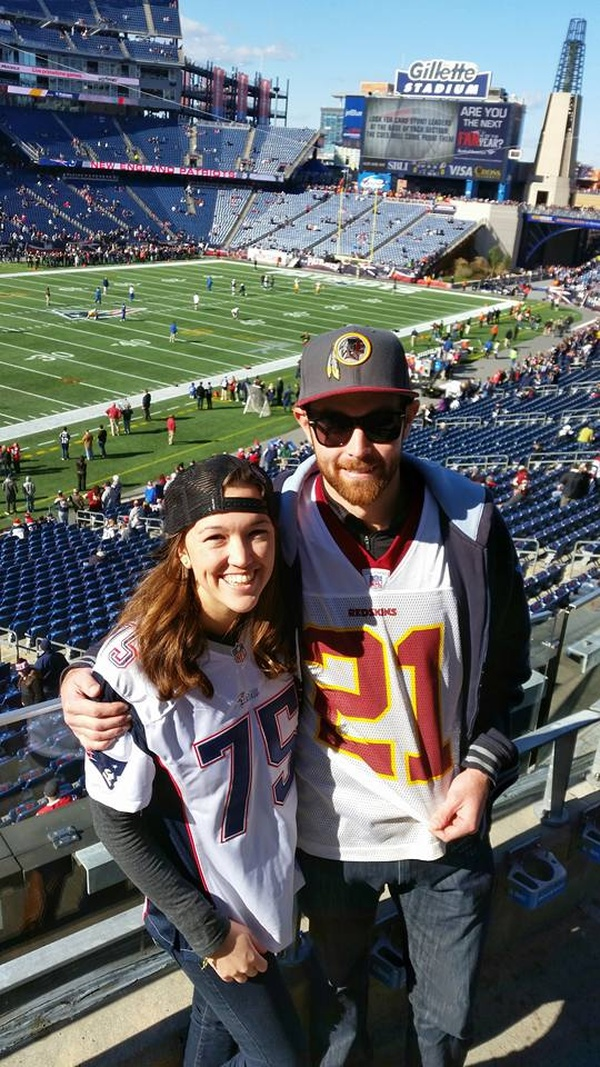 Go to a Redskins Game - Bucket List Ideas