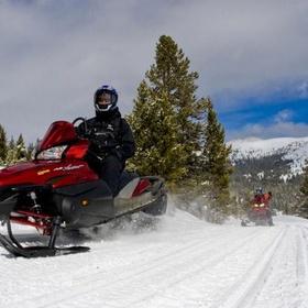 Try snowmobiling - Bucket List Ideas