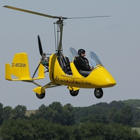Take a ride on a Gyrocopter - Bucket List Ideas