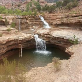 Take a Dip in Toquerville Falls in Utah - Bucket List Ideas