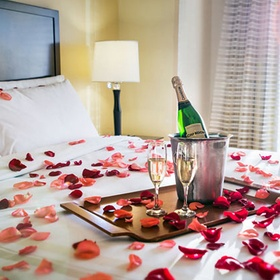 Cover the bed in rose petals - Bucket List Ideas