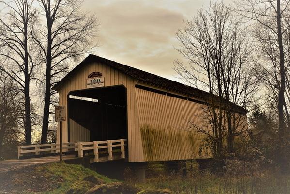 Photograph a covered bridge - Bucket List Ideas